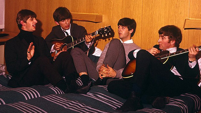 Ringo Starr, George Harrison, Paul McCartney, John Lennon