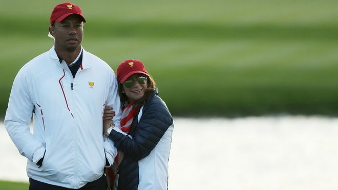 Tiger Woods a Erica Herman