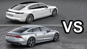 2018 Porsche Panamera VS 2018 Audi A7 - interior Exterior and Drive