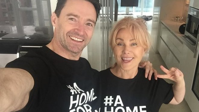 Hugh Jackman a Deborra Lee Furness