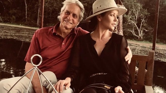 Catherine Zeta-Jones a Michael Douglas