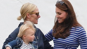 Zara Tindall a Kate Middleton