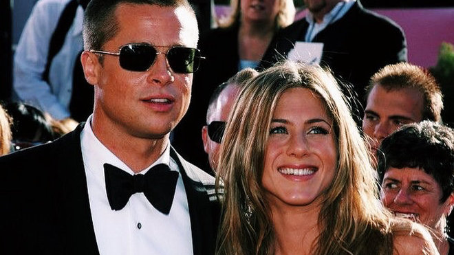 Brad Pitt a Jannifer Aniston