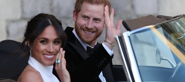 Princ Harry a Meghan.