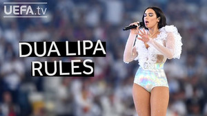 DUA LIPA's full performance at the 2018 UEFA Champions League Final opening ceremony!
