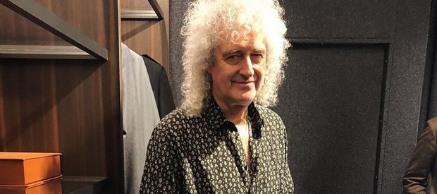 Kytarista Queen Brian May