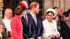 Kate, Meghan, William a Harry
