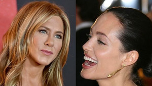 Jennifer Aniston a Angelina Jolie