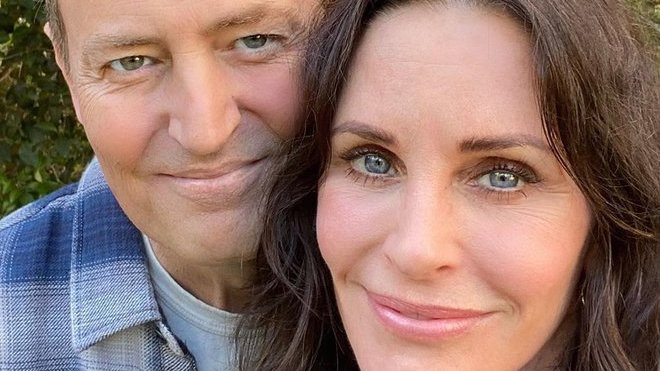 Courteney Cox a Matthew Perry
