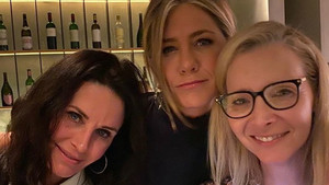 Courteney Cox, Jennifer Aniston a Lisa Kudrow