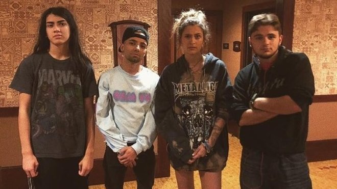 Paris Jackson se sourozenci